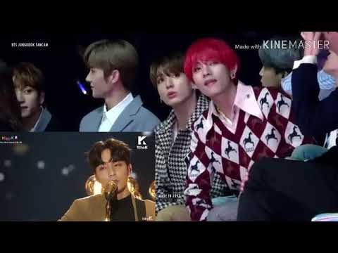 181201 Jungkook BTS Reaction To Roy Kim - Only Then