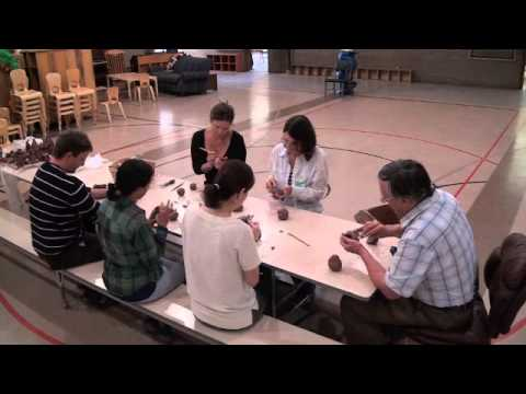 Prairie Moon Waldorf School 2014 - Practical Arts Clip #2