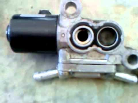 idle control valve how to clean