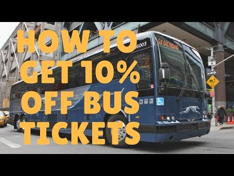 Greyhound bus tickets