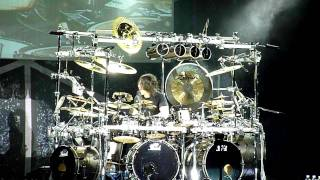 mike mangini solo - dream theater live athens 2011