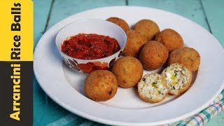 Crispy Rice Balls with Leftover Rice   How To Make Italian Arancini Balls   Quick & Easy