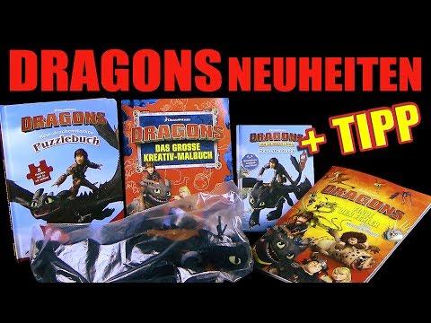 Dragons Neuheiten - Unboxing / Vorschau - Neue Bücher & Schleuder Ohnezahn