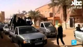 الجزائر - سكان عين صالح يتظاهرون ضد استخراج الغاز الصخري