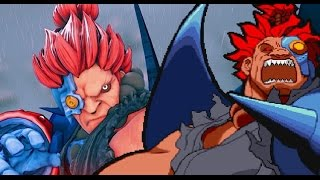 Marvel super heroes vs street fighter CYBER AKUMA-DARK SAKURA TEAM  home xbox 1 gameplay 2017