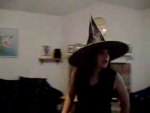Witchy witch hats and DDR! Video