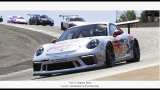 Assetto Corsa | Porsche GT3 Cup USA | Laguna Seca | porsche_911_gt3_cup | 6 этап