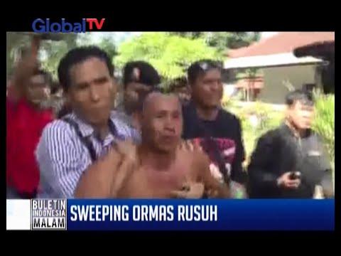 Diduga akan serang ormas lainnya, polisi sweeping ormas di Bali - BIM 26/05