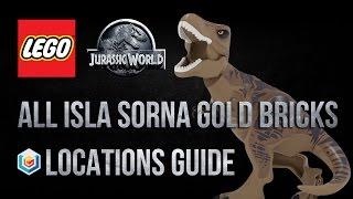 LEGO Jurassic World All Isla Sorna Gold Bricks Locations Guide