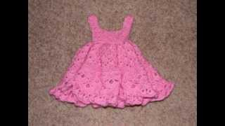 Free Baby Girl Crochet Dress