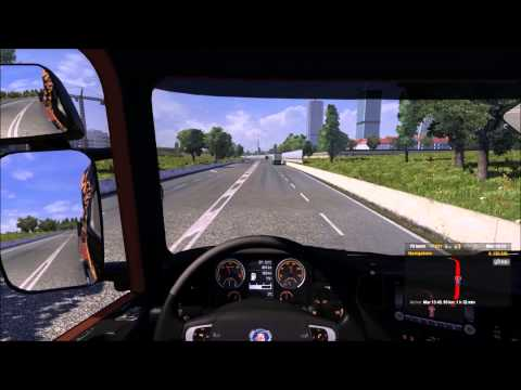 Euro Truck Simulator 2  Patch 1.5.2 + Going East Map (DLC) - Gameplay