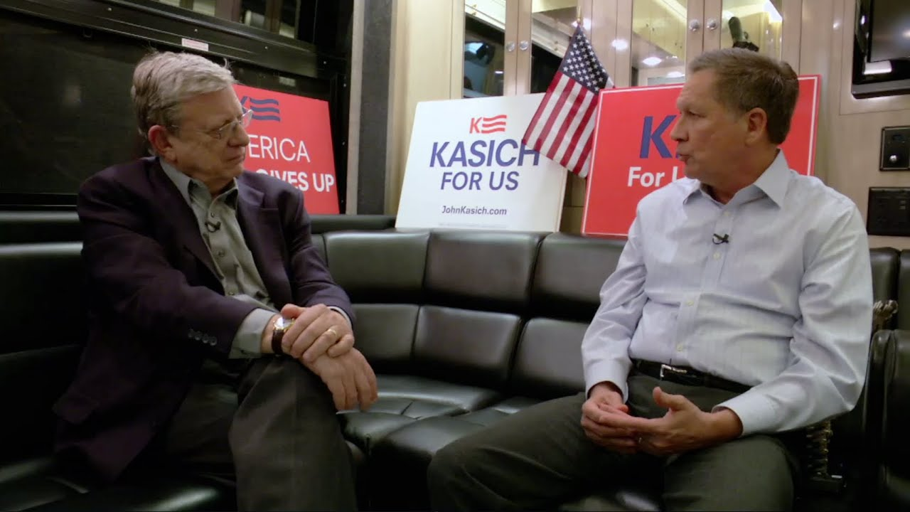 Kasich: 'You have to have a vision'