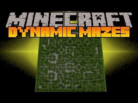 Minecraft Mod Showcase - Dynamic Mazes - Mod Review