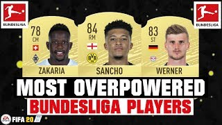 FIFA 20  MOST OVERPOWERED BUNDESLIGA PLAYERS рр FT. SANCHO, ZAKARIA, WERNER... etc