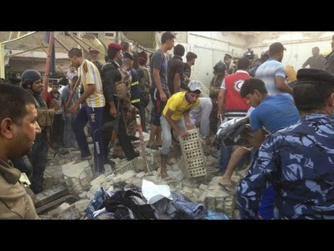 Iraq violence: suicide bombings, car bombings kill 24 in one day