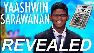 Yaashwin Sarawanan: Human Calculator SECRET REVEALED | Asia's Got Talent