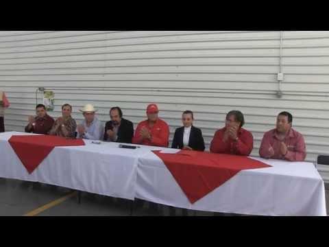 Inauguración de agencia de equipo agrícola en Ciudad Guzmán
