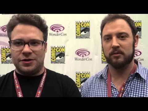 WonderCon 2013: Press Line Interview with Seth Rogen and Evan Goldberg for This is the End