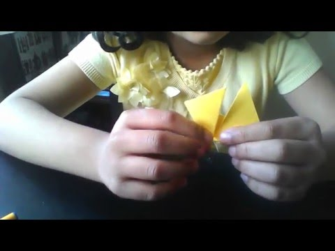 Origami- Paper Boat Easy version for Beginners - by Shikha