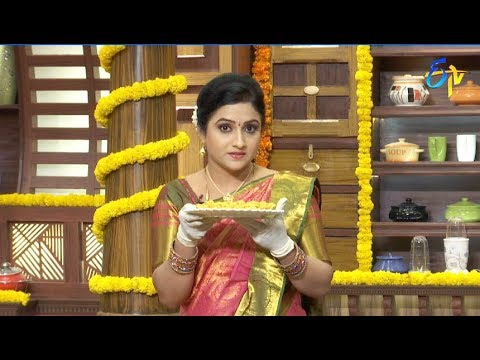 Telugu Ruchi | 13th October 2018 | Full Episode | ETV Telugu