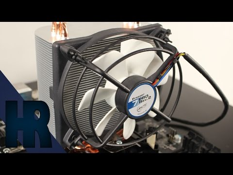 Arctic Cooling Freezer 7 Pro Rev. 2 Review   Unboxing Test CPU Kühler Deutsch