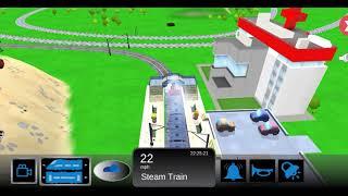 Trains Game for kids - Choo Choo Train Game -  Trains Videos for Kids !! Toy Factory - Cartoon Train