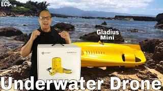 Underwater Drone 2019 (4K) | Gladius Mini | Best Underwater Drone Yet!!