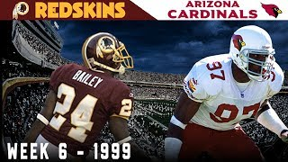 The Game Champ Bailey Became a LEGEND! (Redskins vs. Cardinals, 1999)