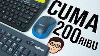 2 Mouse dan Keyboard Wireless Murah Supaya Setup Makin Clean ! #CrankyList