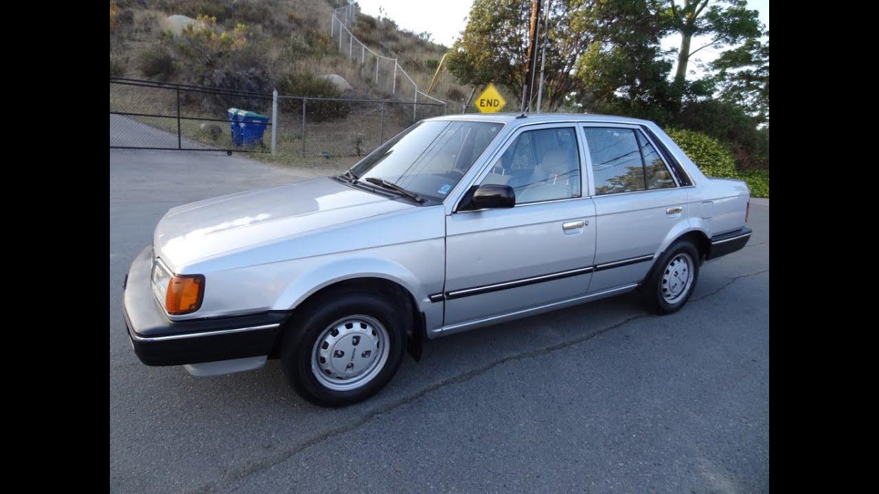 87 Mazda 323 Dx Sedan Great Mpg Cheap Car For Sale