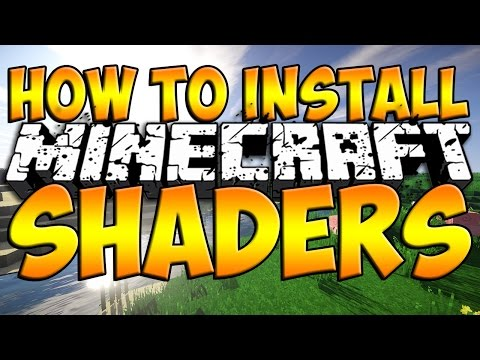 Minecraft Tutorial: How to Install Shaders Mod (Minecraft Shaders Mod 1.8)