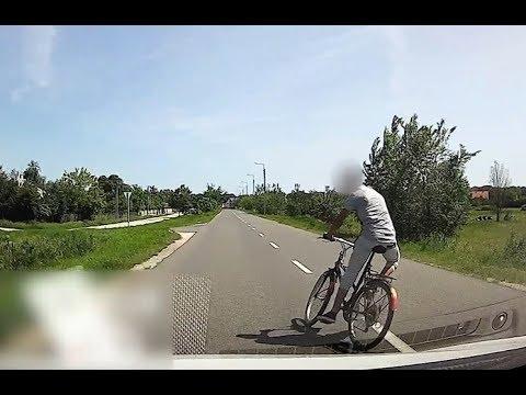 Majdnem végzetes biciklis gázolás, aminek több tanulsága is van