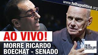 AO VIVO: SENADORES SE PRONUNCIAM APÓS MORTE DO JORNALISTA RICARDO BOECHAT EM QUEDA DE HELICÓPTERO