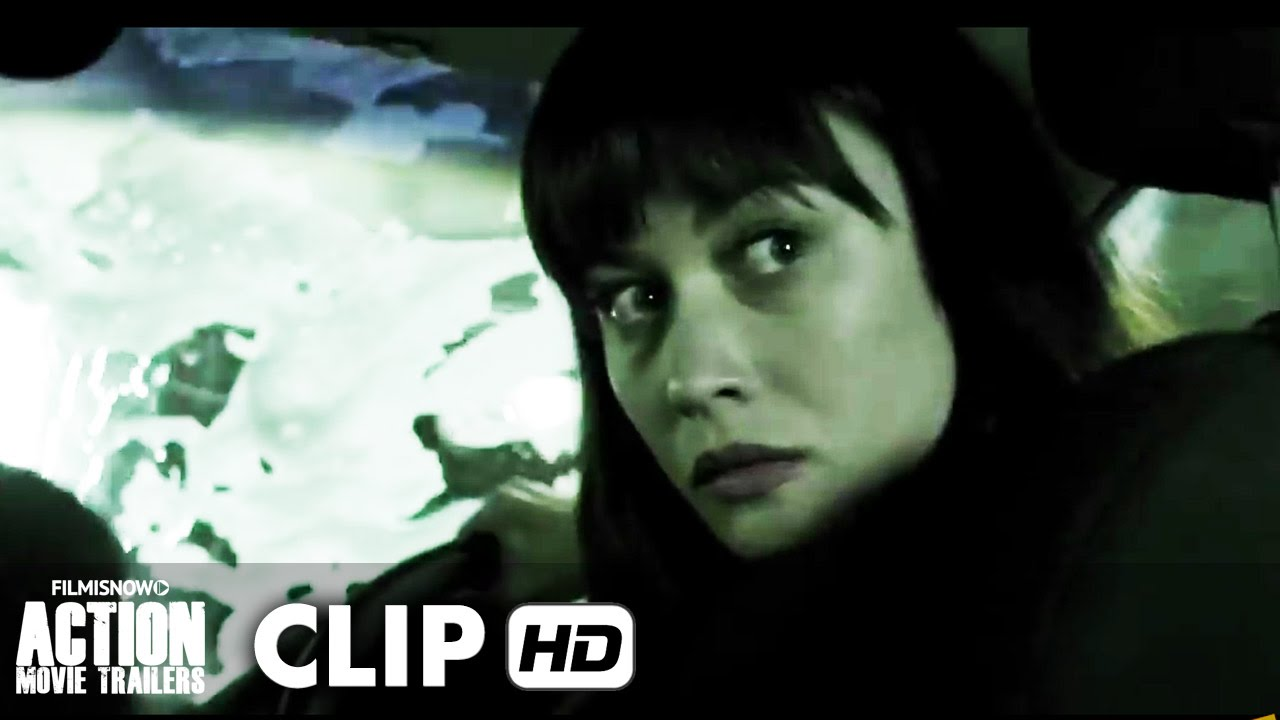 Momentum Movie CLIP 'Car Chase' (2015) - Olga Kurylenko Movie [HD]