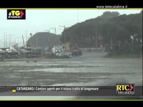 Catanzaro, cantieri aperti per il tratto di lungomare di Giovino RTC TELECALABRIA