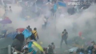 Proteste in Hongkong: Weiter Blockaden im Bankenviertel