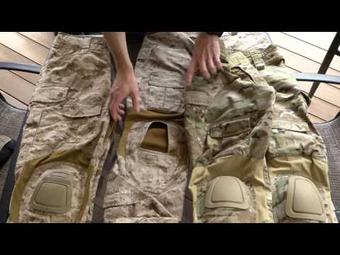 Crye Precision Combat Pants Comparison
