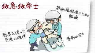 職業紹介【救急救命士篇】~将来の仕事選びに役立つ動画