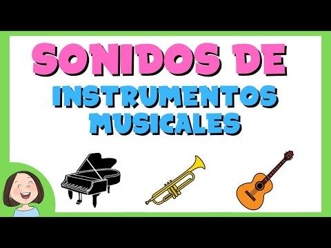 Aprende los sonidos de los instrumentos musicales
