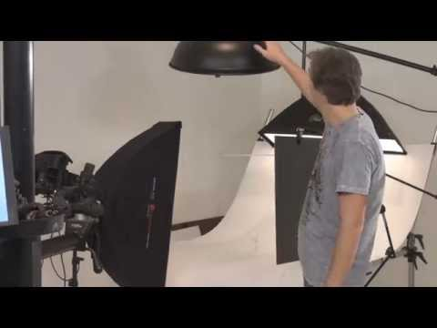 How to shoot on a pure white background: studio product photography tutorial