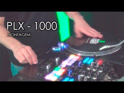 Pioneer PLX-1000: MONTAGEM e USO (Vídeo 3 de 3)