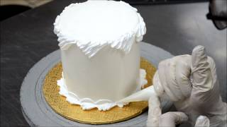 Fast Way to decorate cake with buttercream icing  | Decorating Cakes