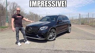 STUPID FAST Mercedes GLC 63 AMG Review | The Best AMG SUV You Can Buy?