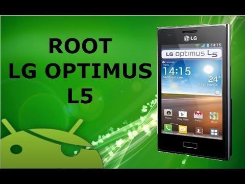ANDROID   Rootear LG Optimus L5