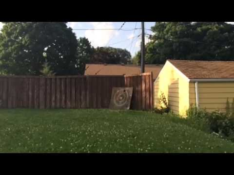 Super Illegal Potato Spud Gun Breaks Solid Plywood Board