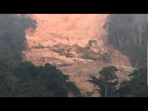rio san julian cerro cayendose