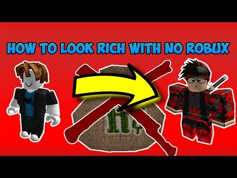 HOW TO LOOK COOL AND RICH ON ROBLOX