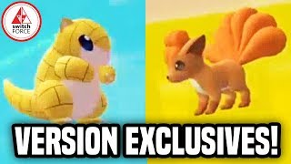 Pokemon Let's Go Pikachu: EXCLUSIVE POKEMON, HIDDEN ITEMS, ONLINE!