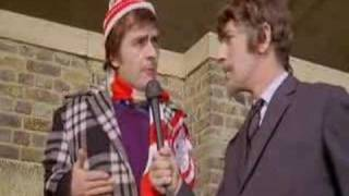 Football violence (Peter Cook, Dudley Moore)