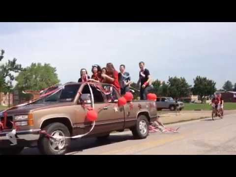 Parkersburg High School Senior Parade!